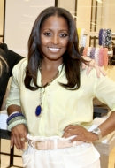 Actress Keshia Knight Pulliam in Celadon Sky Bracelet