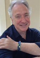 Actor Alan Rickman in Twist Again Fabric Wrap