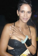 Actress Halle Berry in Celeste Sky Bracelet