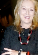 Actress Meryl Streep in Caviar Sky Bracelet