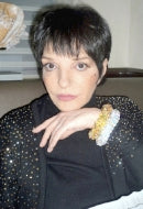Actress/Singer Liza Minnelli in Bubbly & Gold Digger