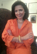 FIT President Dr. Joyce F. Brown in Honeycomb Sky Bracelet