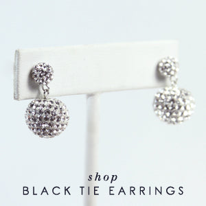 Shop Black Tie Earrings