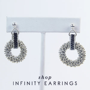Shop Infinity Earrings
