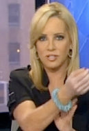 Fox News Anchor Jamie Colby in Celeste Sky Bracelet