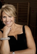News Anchor Katie Couric in Clear Sky Bracelet