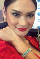 Miss Universe Pia Alonzo Wurtzbach in the Peace Bracelet