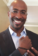 Activist and Advocate Van Jones in the Men's Honor Bracelet