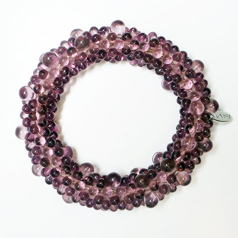 Garnet Bond Necklace