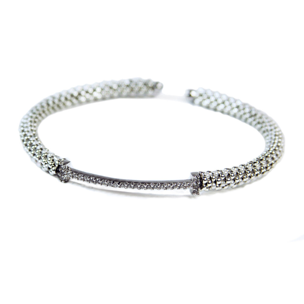 Bar Cuff in Silver from the Destiny Collection