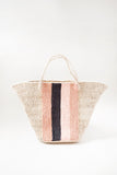 Striped Panel Bag