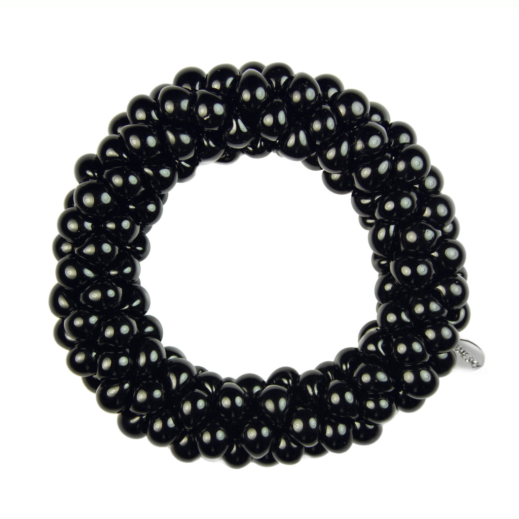 Neutral Sky Bracelet in Black Lacquer from the Sky Collection