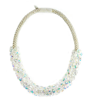 Iridescent Sky Necklaces in Bubbly from the Sky Collection