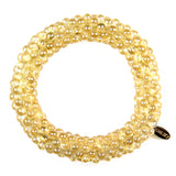 Crystal Bond Bracelet in Citrine Bond from the Bond Collection