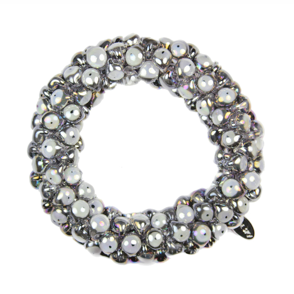 Evil Eye Sky Bracelet in Chrome Metallic from the Sky Collection