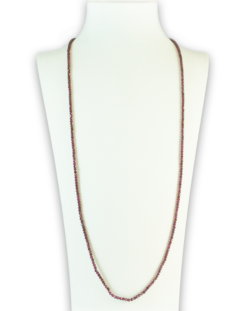 Carnelian Brilliant Gemstone Necklace