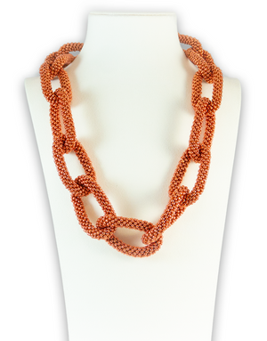 Cinnamon Infinity Necklace