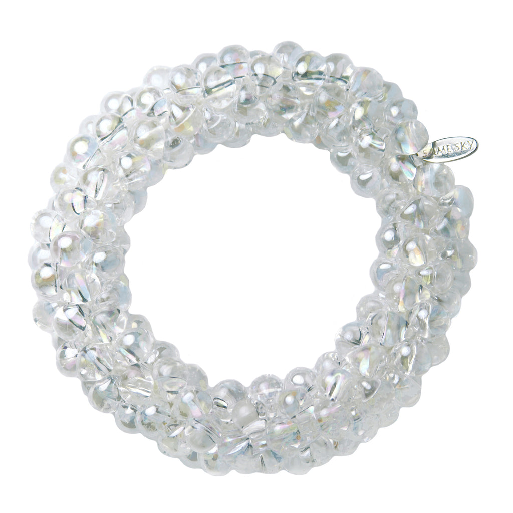 Iridescent Sky Bracelet in Crystal from the Sky Collection