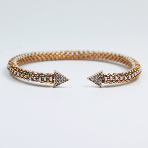 Pavé Rose Gold Radiance Bracelet