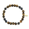 Elements Men's Bracelet in Lapis + Tiger's Eye