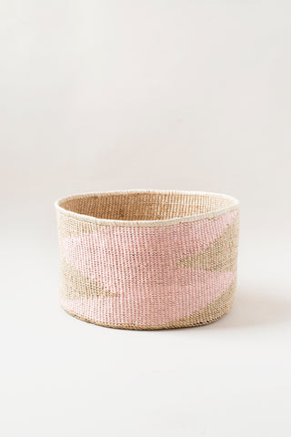 Marrakech Basket - Navy & Pink