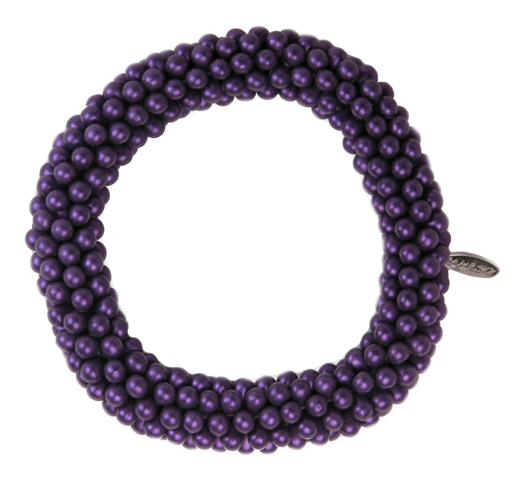 Matte Bond Bracelet in Ultraviolet from the Bond Collection