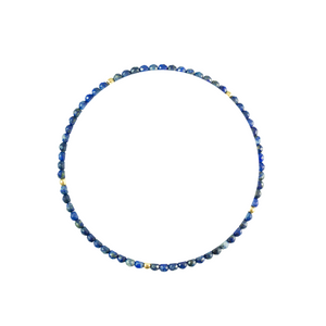 Gold & Lapis Elements Bracelet