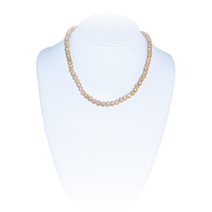 Gold Pavé Radiance Necklace