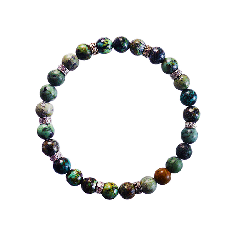 Green Agate Elements Bracelet