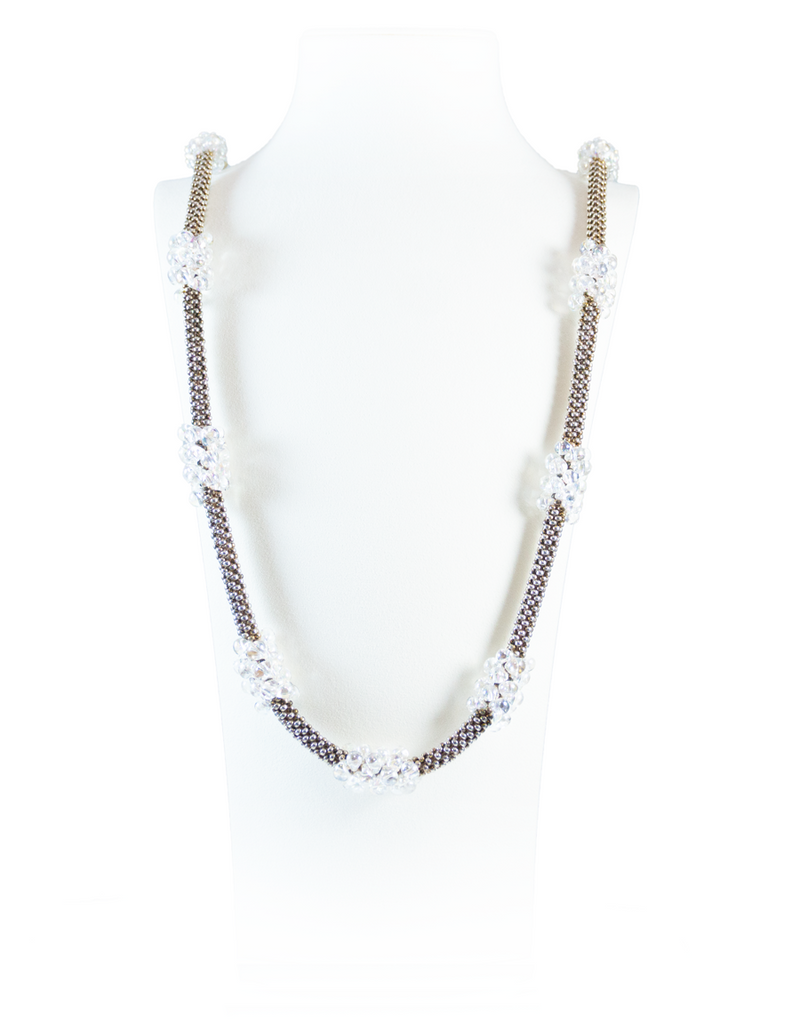 Gunmetal Hope Necklace