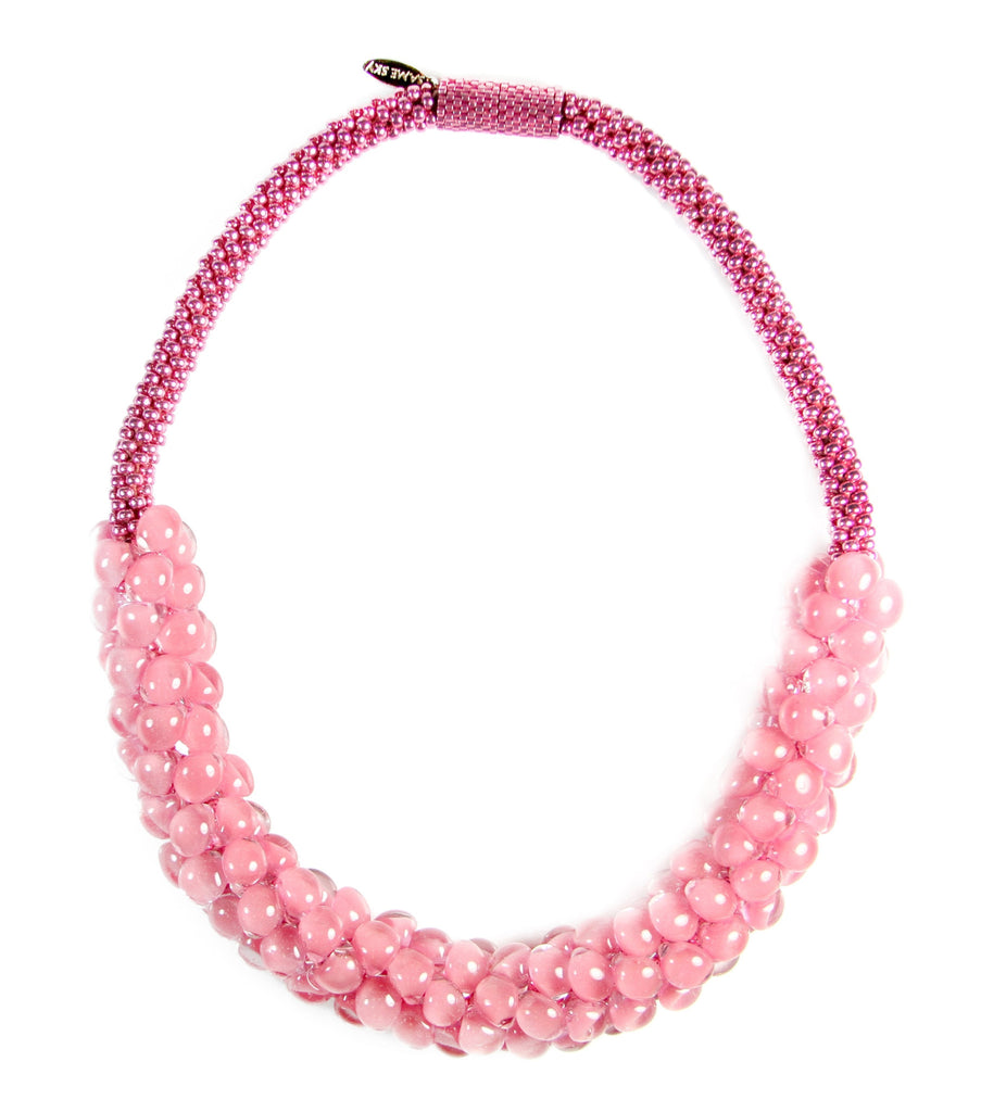 Vivid Sky Necklace in Cherry Blossom from the Sky Collection