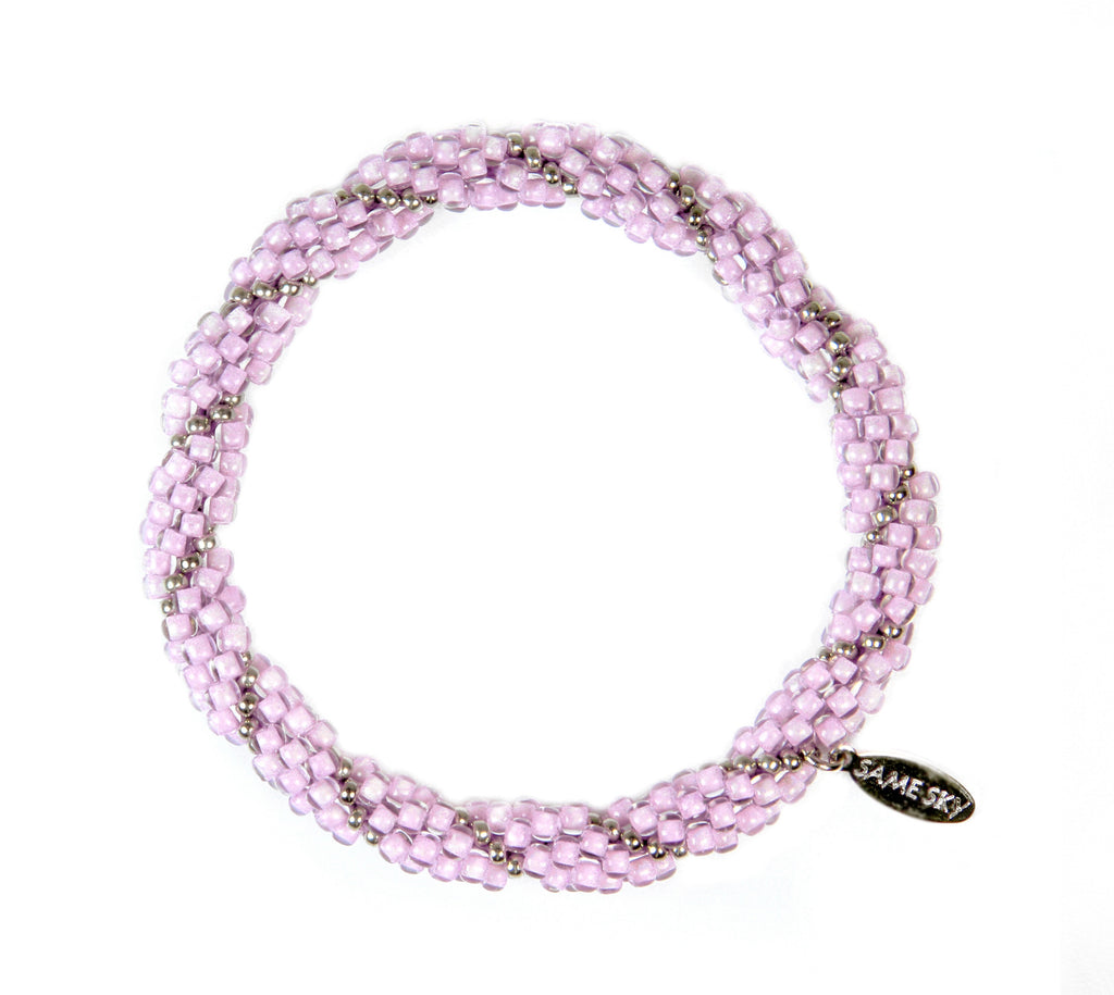 Prosperity Bracelet in Purple Spiral from the Prosperity Bracelet