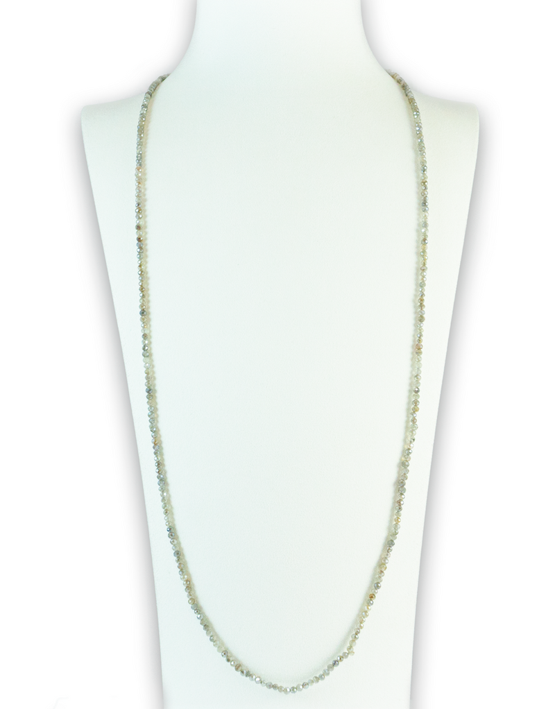 Labradorite Luminous Gemstone Necklace
