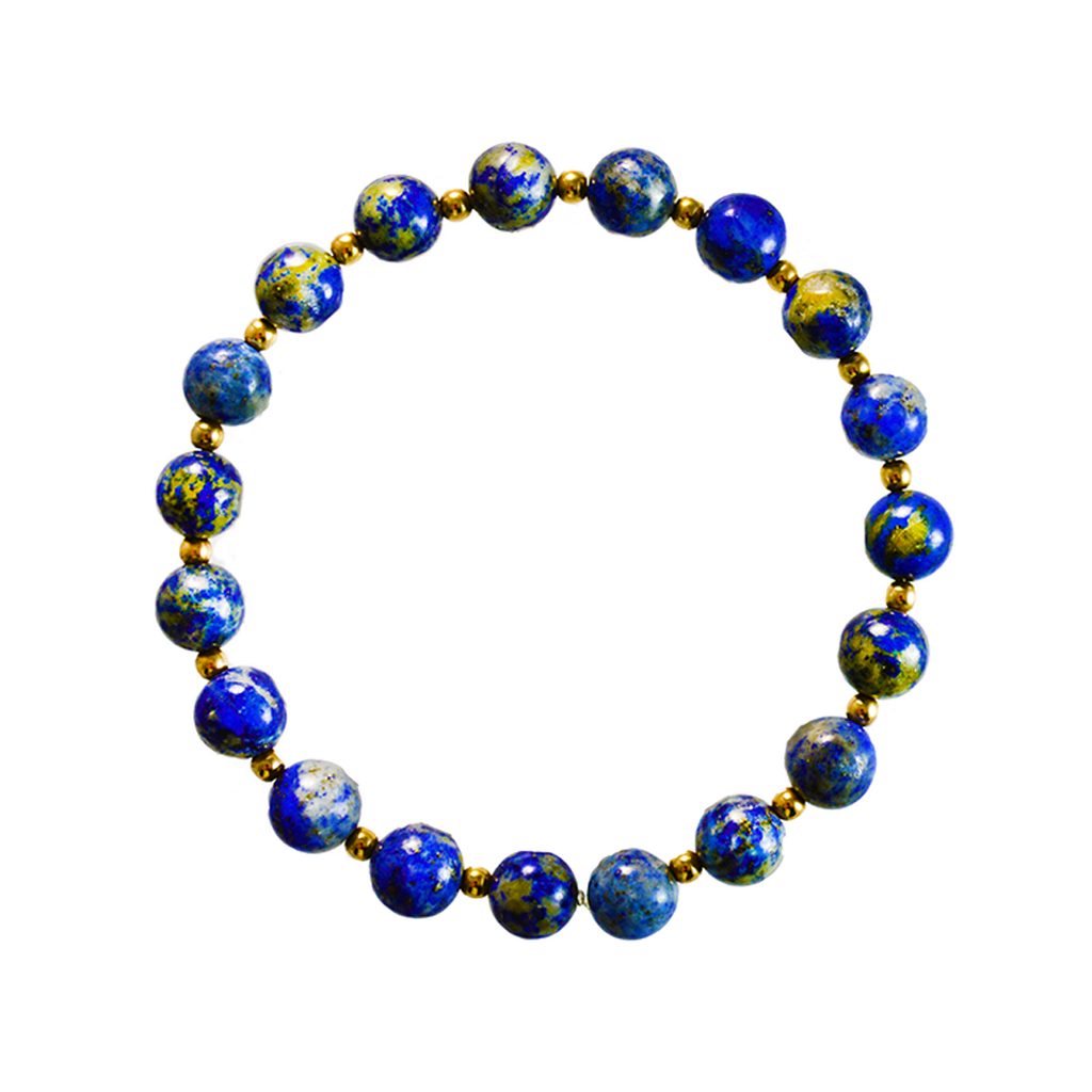 Gold + Lapis Elements Bracelet