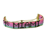 Miami Postcard Bracelet from the Loom Collection
