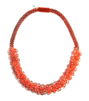 Vivid Sky Necklace in Vermillon from the Sky Collection