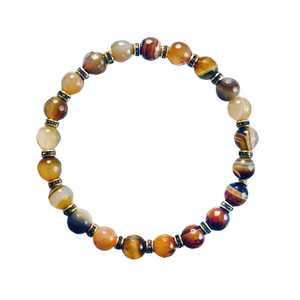 Golden Quartz Elements Bracelet
