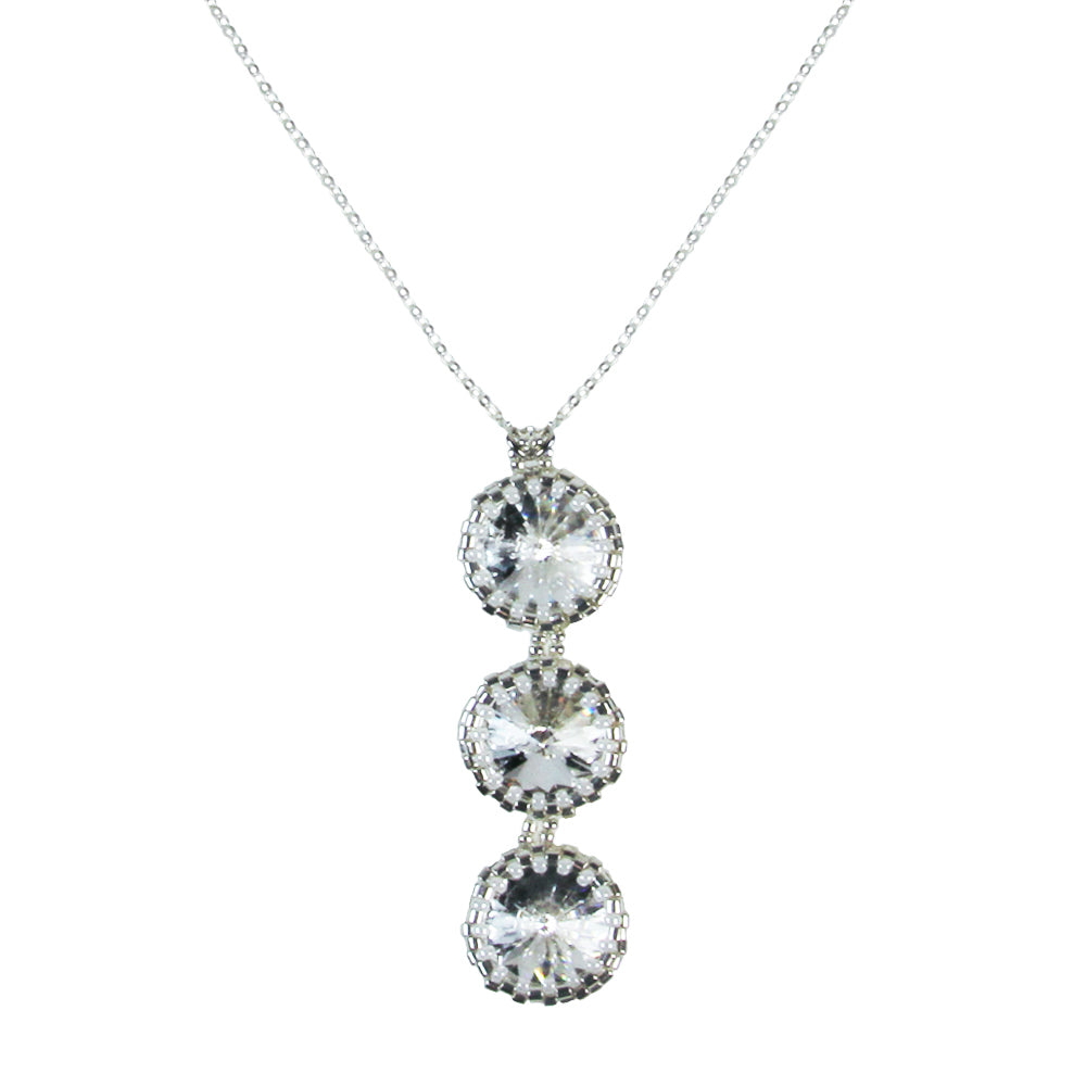 century jewelry s product swarovski necklace normal sold pendant gallery lyst women crystal at metallic in previously