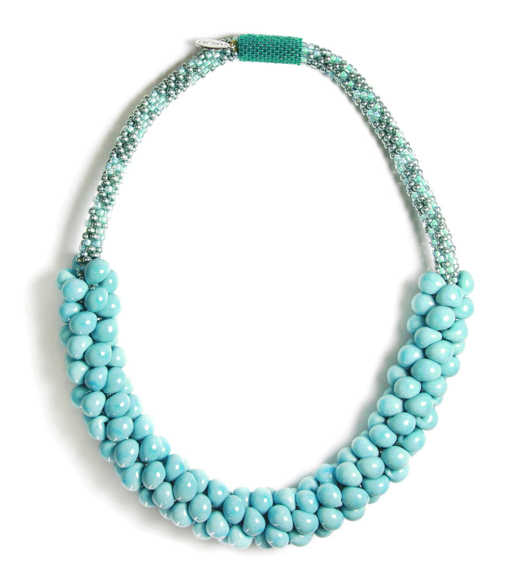 ONE-OF-A-KIND: Turquoise Sky Necklace