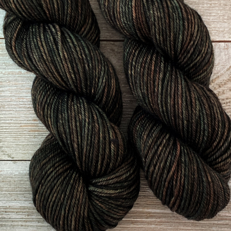 ww kashmir Enchanted Forest, worsted weight merino and cashmere yarn
