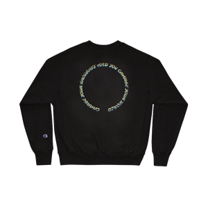 Strip it down Champion Sweatshirt