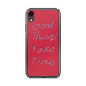 Good Things iPhone Case