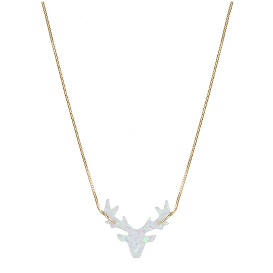 THE WHITE DEER OPAL