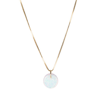 The Opal Full Moon Necklace