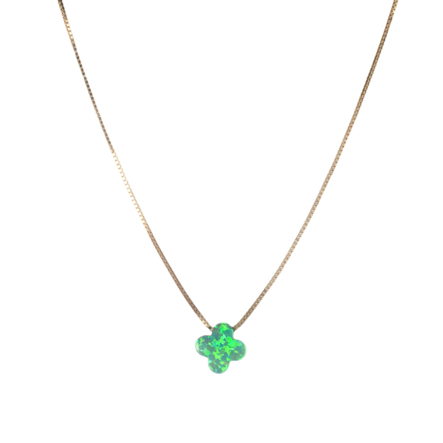 The Clover Opal Necklace