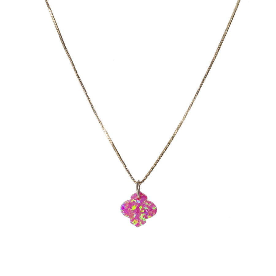 The Opal Arabesque Necklace