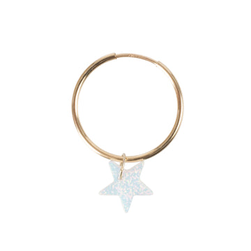 The Opal Star Earring