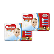 PACK Pañal Huggies Natural Care Niño G - 108 und