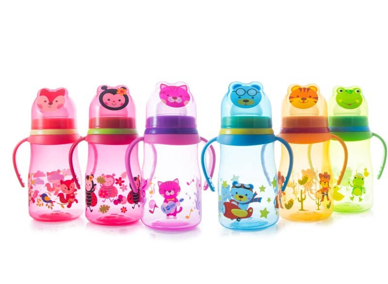 Vaso entrenador animalitos silicon Baby´s - 250 ml