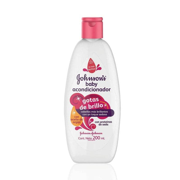 Acondicionador gotas de brillo Johnson's Baby 200 ml